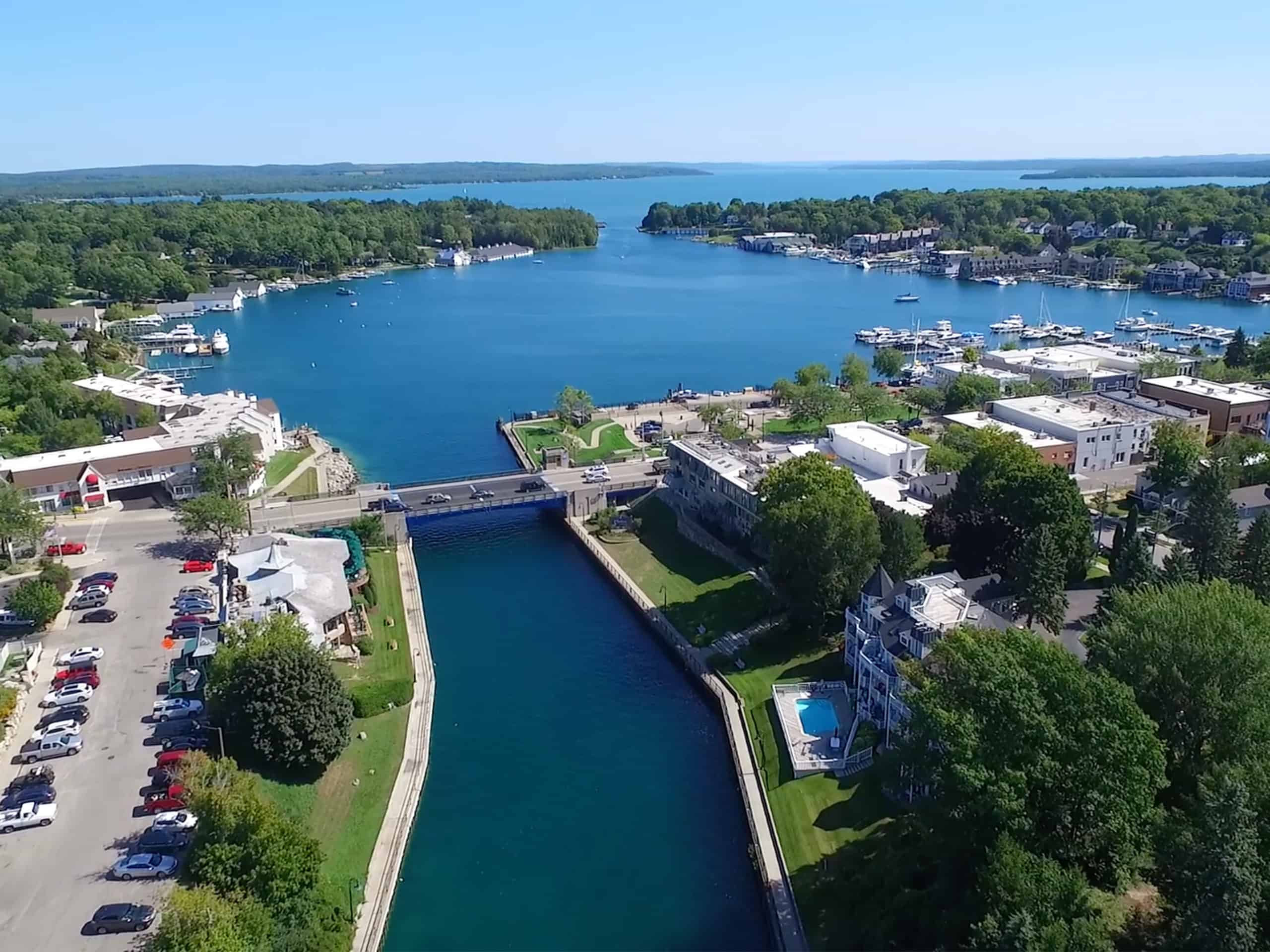 Charlevoix is nice small town for health and wellness activity