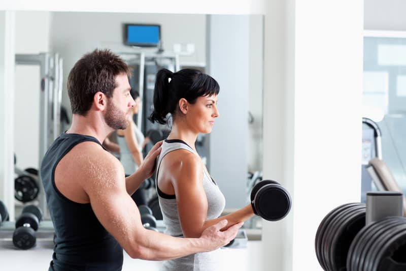 personal training is a part of the health and wellness program at the pointes north inn