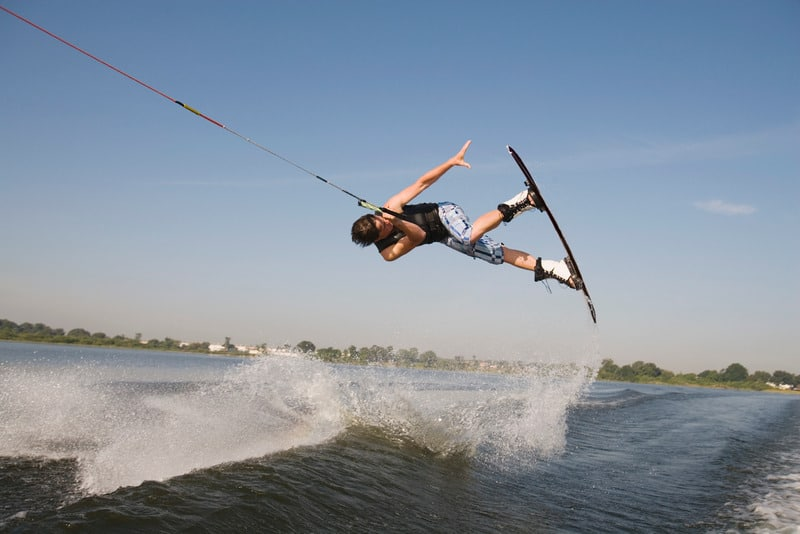 wakeboarding is a fun summer activitiy