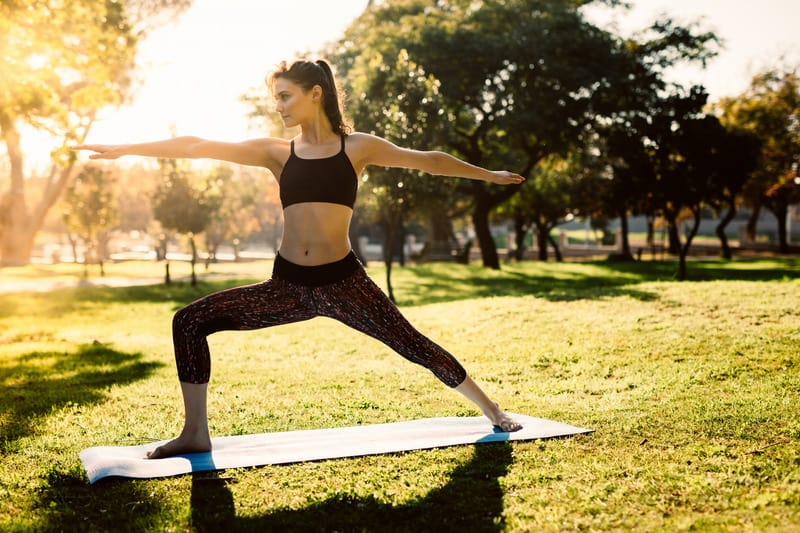yoga is a part of the health and wellness promotion at the pointes north inn